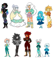Gem adopts: 1/10 OPENED SALE by sariasong64
