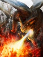Mountain Wyvern - Outcast Odyssey (Competition) by Samscrapbook