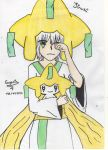 Jirachi Gijinka by type-your-answer
