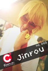 Red Smiley (Cosplay Channel ID card) by ukiyodistrict