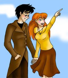 First date _ James-Lily by james-potter