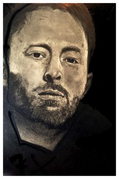 Thom Yorke by Aaron Frick by AaronFrick