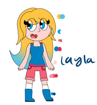 Layla - Redesign by SquickWeeb