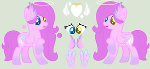 Angel Heart Refrence Sheet by xXSky-HeartXx
