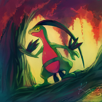 Grovyle by KoriArredondo