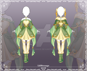[Close] Adoptable Outfit Auction 203 by LifStrange