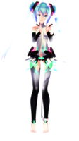 .:Vocaloid:. TDA Miku Append by A-Daiya