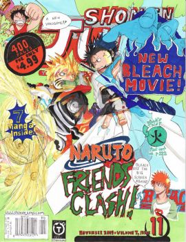 Shonen Jump 2009 Cover Contest by Akatama