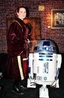 Padme and R2 - TPM by BenaeQuee
