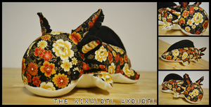 The Kikulotl Axolotl by heilei