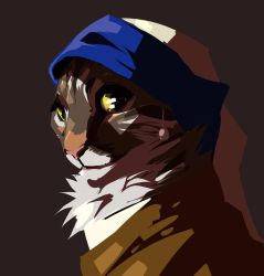 Cat with a pearl earring by Kantarti