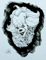 Pennywise by DemonCartoonist