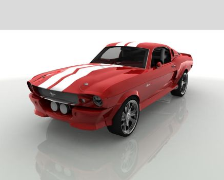 GT500 Red by danyal-tr