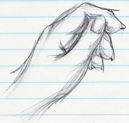The Noble Hand sketch by broken-wings