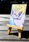+Espeon ACEO - Pokemon+ by madhouse-arts