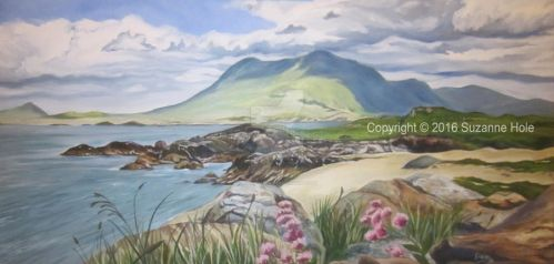 Renvyle Beach, Connemara by SuzanneHole