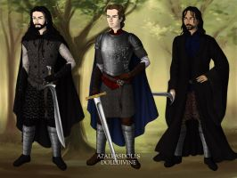 Witch Hunter, Champion, Avenger by KellySchot