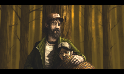 Kenny and Clementine by concubot