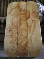alice in itchland skate decks by itch1