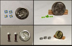 Quarter Inch Scale Goodies by Kyle-Lefort