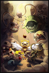 The Binding of Isaac by DrManiacal