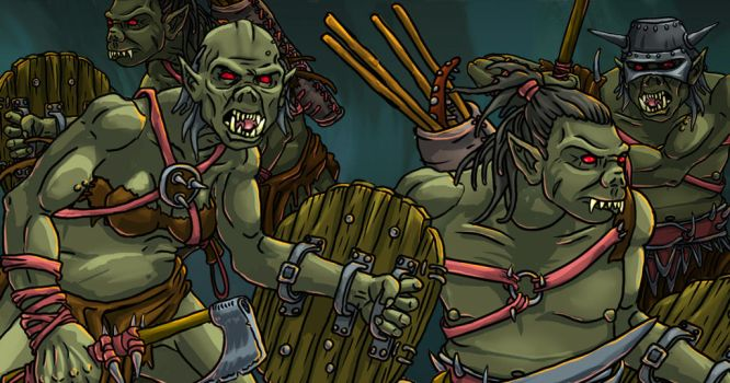 Orc Ad by MaximumMiniatures