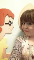 Roald Dhal School Installation- Selfie with Sophie by Ideas-in-the-sky