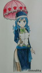 Juvia by Annouk64