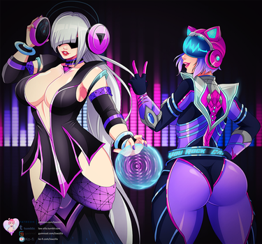 Rave Babes by LawZilla