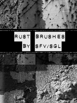 SFV Rust Brushes by soggylittlecorpses