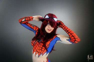 Spider Mary Jane by TenderCosplay