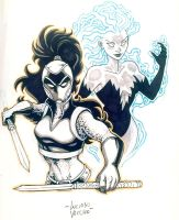 EMPRESS and SPARX NYCC Commission by LucianoVecchio
