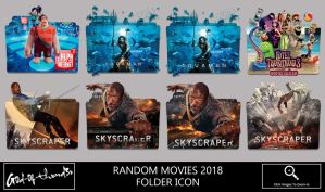 Random Movies 2018 Folder Icon by G0D-0F-THUND3R