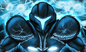 Dark Samus by Sol-Lar-Bink