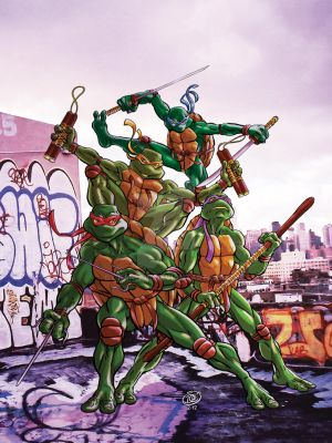 TMNT Color by Grandoc