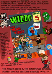 The Wizzo Issue 5 Ad by WizzKid97