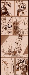 Squids vs Octos the Comic by TamarinFrog