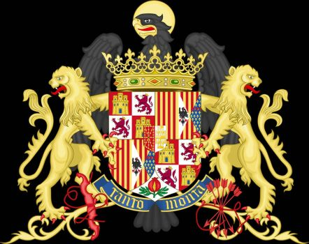 Coat of arms of the Catholic Monarchs by osedu