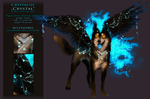 Crystalize  - Reference-Sheet by WhiteSpiritWolf