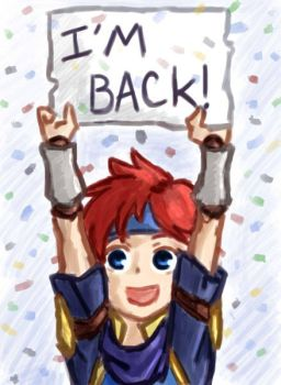 Our boy is back! by Scapewolf