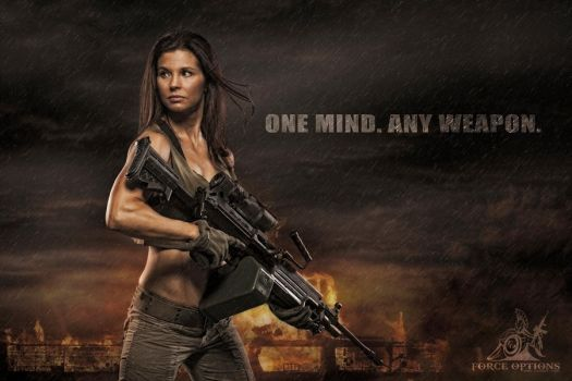Tactical Girl by straight8photo