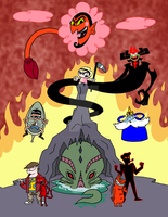 Cartoon Network Villains by HectorConCarne