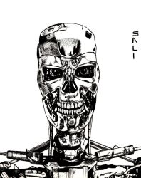 Terminator T-800 by MisterSali