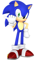 Sonic 2 Style Render. by JaysonJean