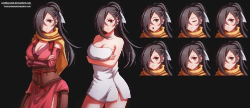 kagero graphic novel game commission by CoolBoysEnt