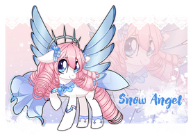 Pony Snow Angel Adopt [OPEN] by Moon-Yard
