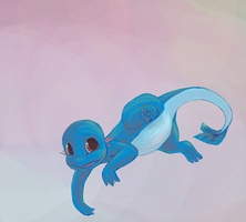 Charmander - Water Type by Belerith