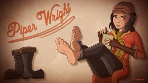 Piper Wright - A Piping Hot Lead by Lucabor
