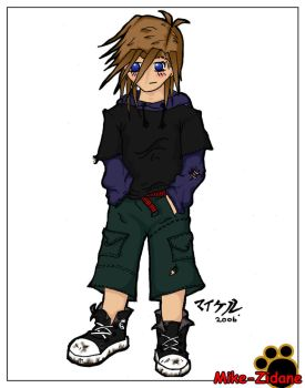 Mike-Chan colour by mike-zidane