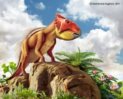 Leptoceratops by haghani